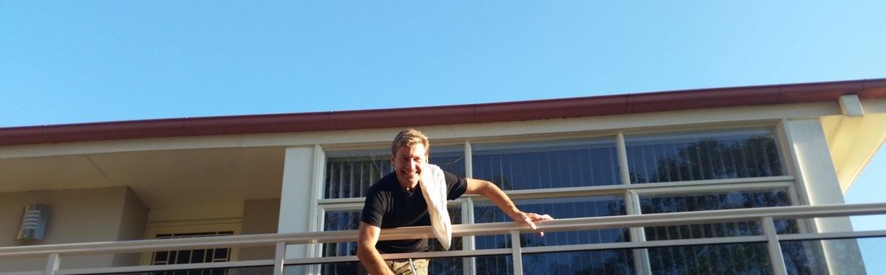 Window Washing Man